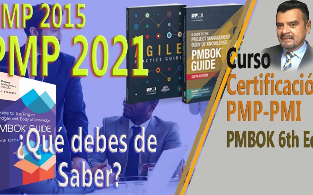 Nuevo examen PMP 2021 cambios y opciones de examen